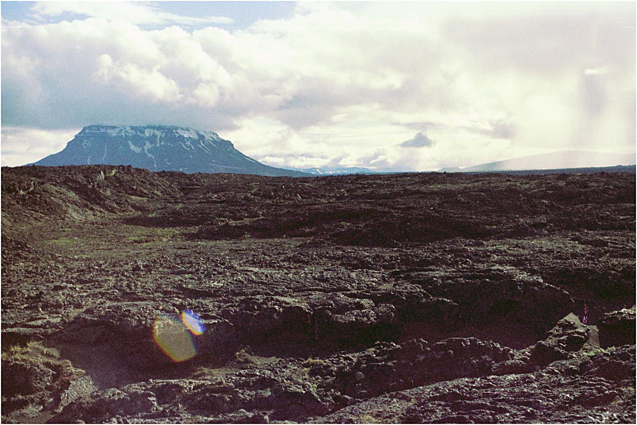 Island Herdubreidarlindir  1976