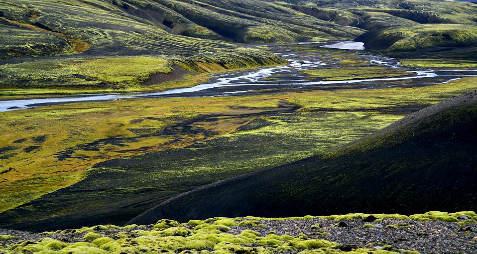 Island Hochland Landschaften