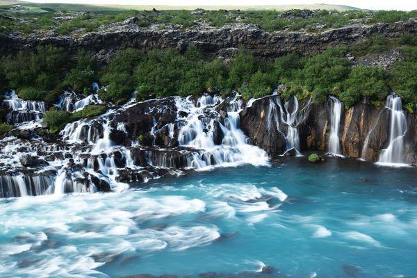 Island | Hraunfossar