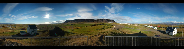 Island im weiten Westen