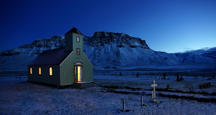Island im Winter – Die höhere Macht war gut gesinnt