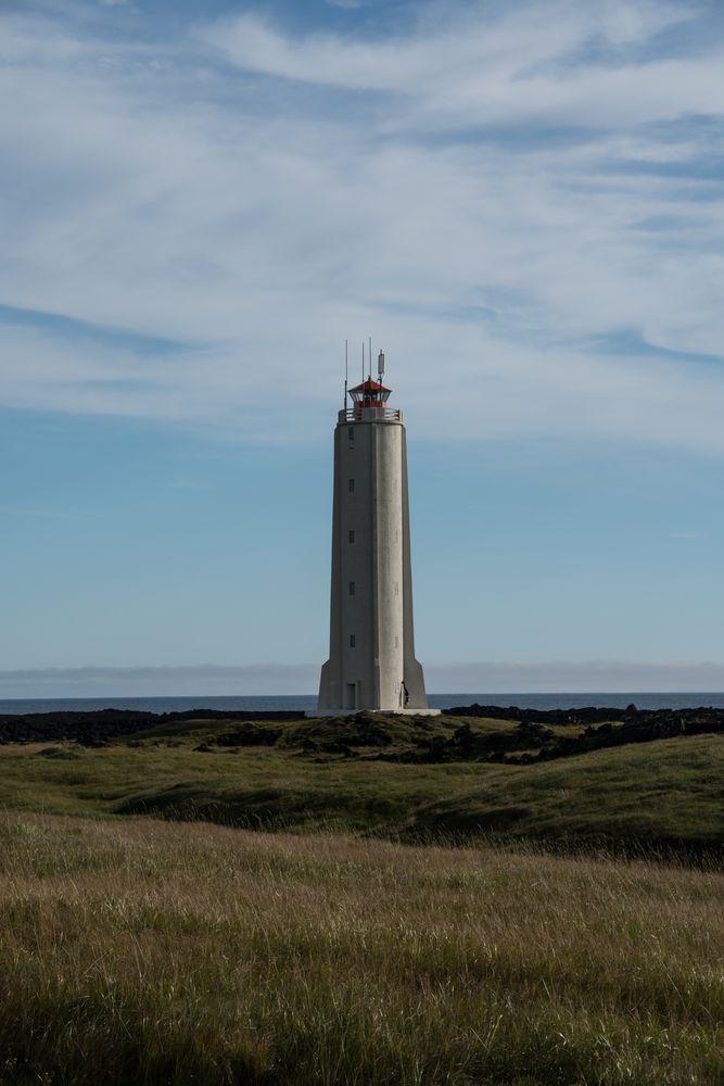 Island - Leuchtturm Malarrif