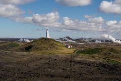 Island - Leuchtturm Reykjanes