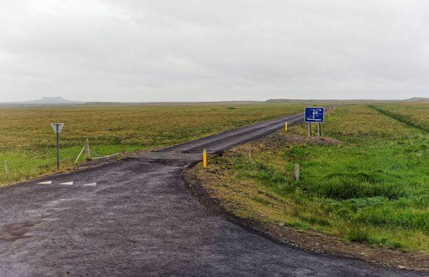 Island - Nebenstraße