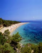 Island of Brac - Beach Golden horn