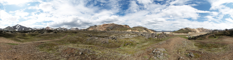 Island | Panorama Landmannalaugar