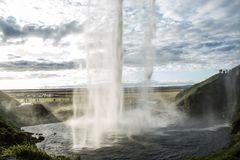 Island - Seljalandsfoss Wasserfall