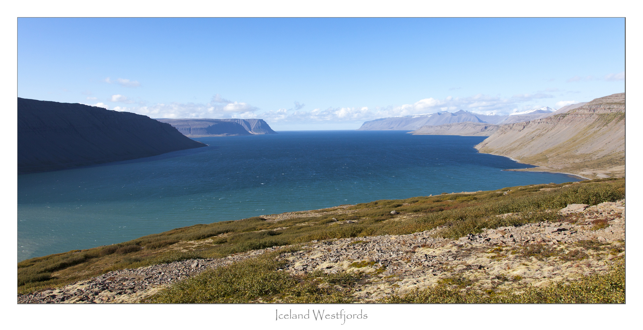 Island - The Blue Sea of Westfjords
