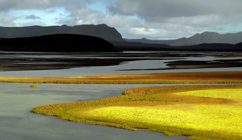 Island - Warten auf den Sonnenspot....