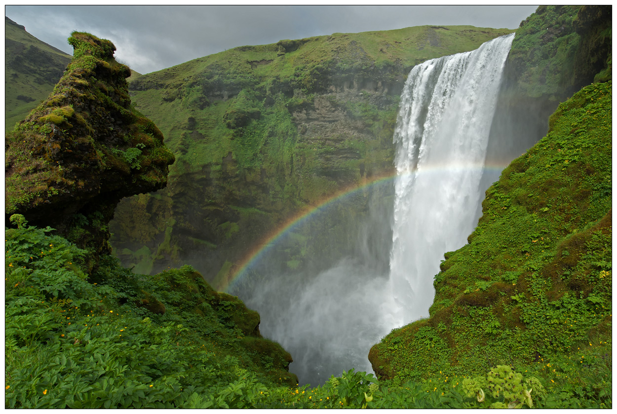Island Zauberland [30] - Skógafoss