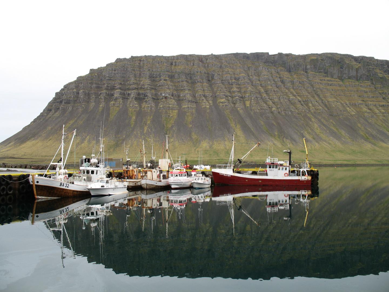Islande - Petit port