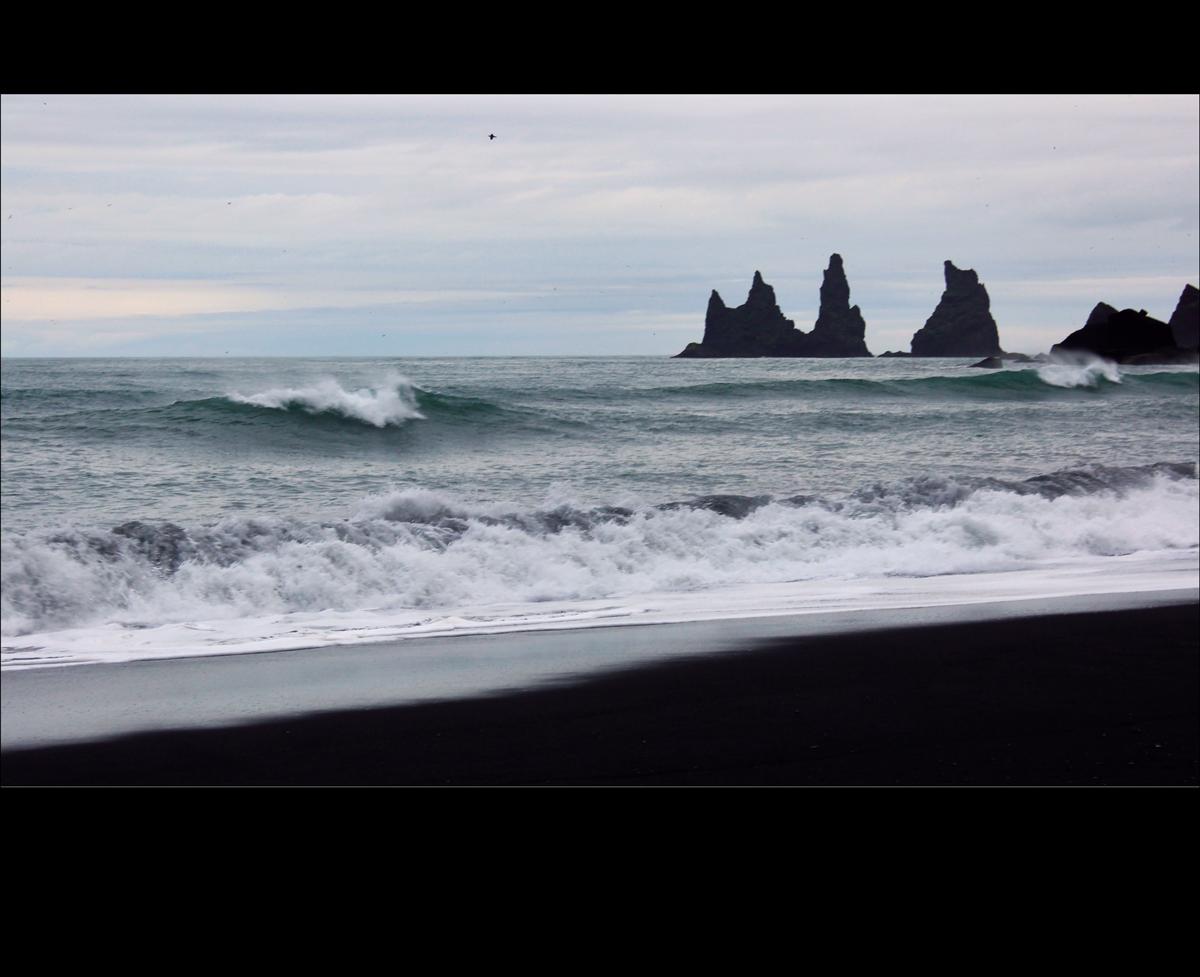 ISLAND.Reynisdrangar.