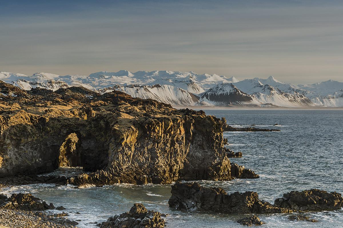 Islands Küste