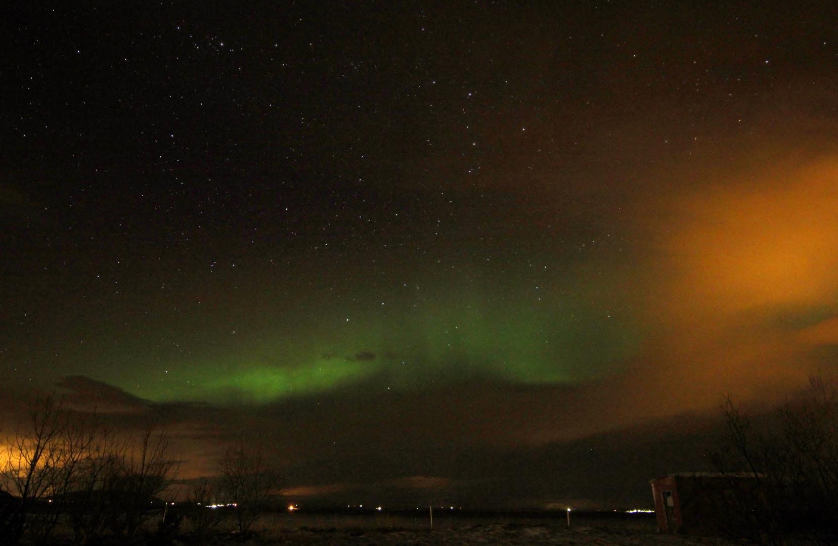 Islandwinterhimmel