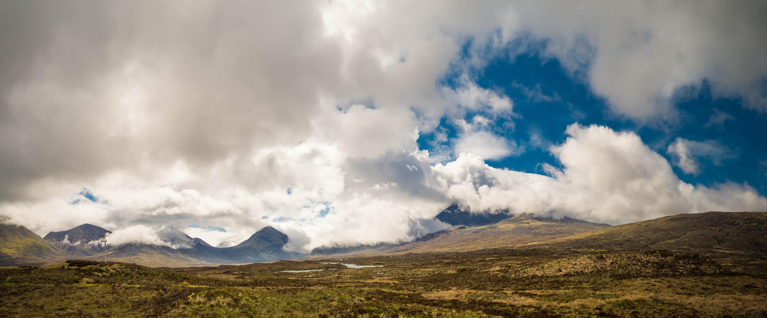 Isle of Skye - Black Cuilins nach dem Sturm
