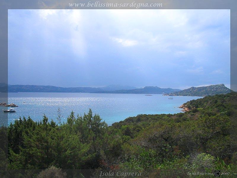 Isola Caprera - Sardegna - Italia.