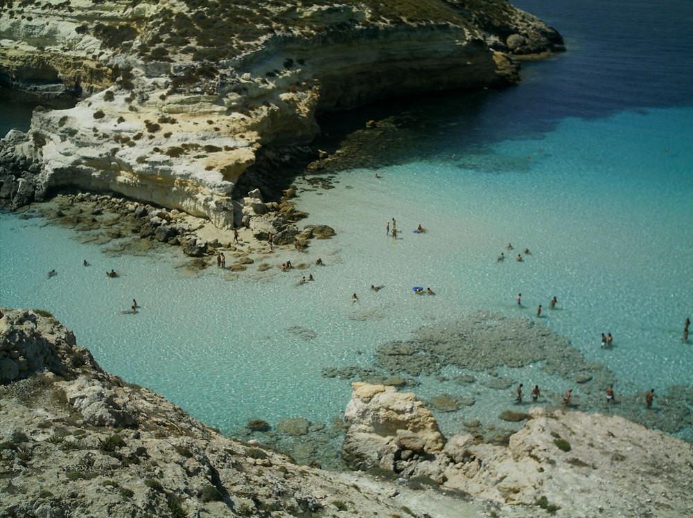 """Isola dei Conigli """"Lampedusa"""""""