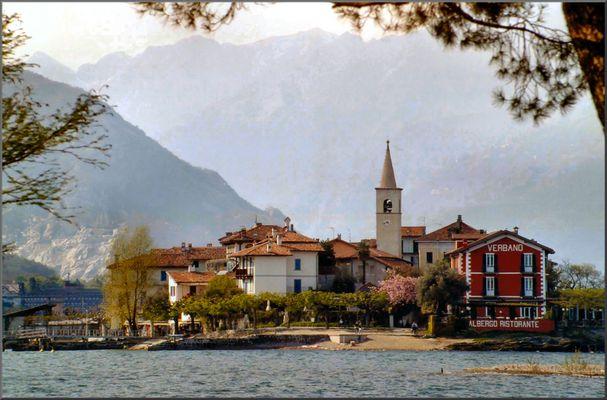 Isola dei Pescatori  al Lago Maggiore.
