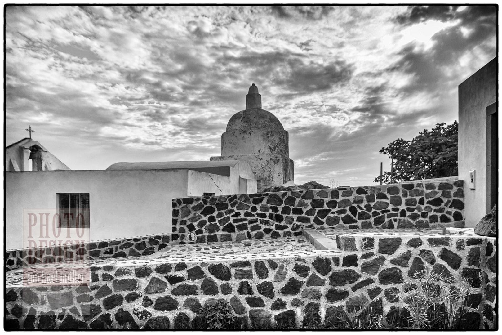 Isola Lipari, Kirche in der Nähe von Quattropani