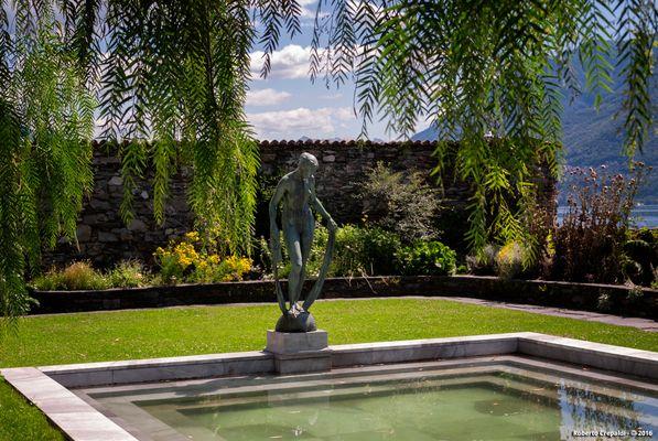 Isole di Brissago, giardino