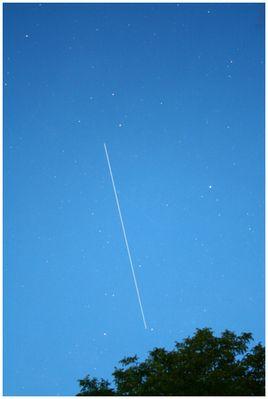 ISS über Deutschland