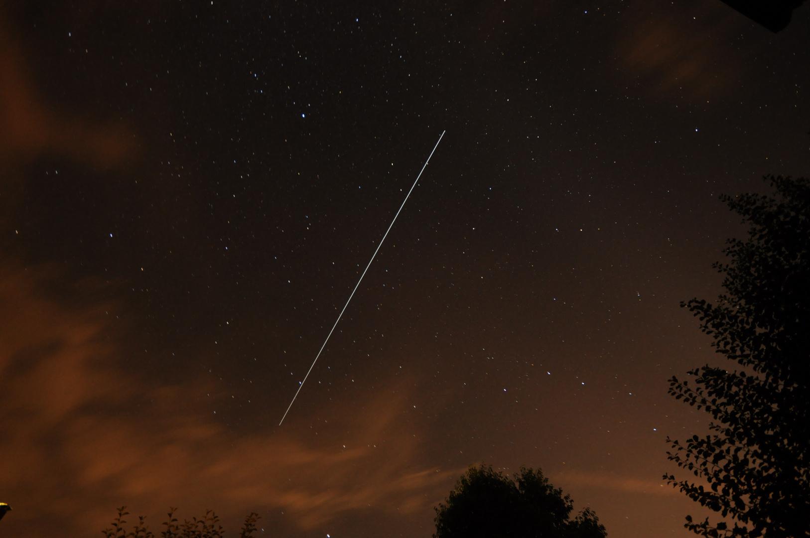 ISS Überflug am 23.05.2013 um 23:15 Uhr