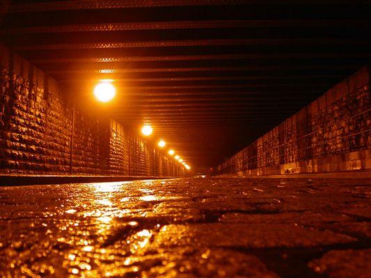 Ist da Licht am Ende des Tunnels ?