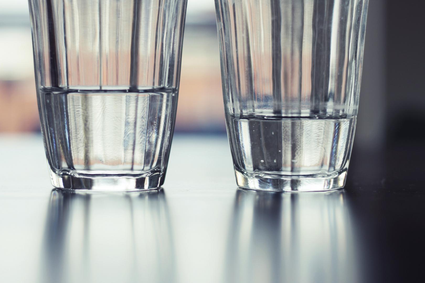 Ist das Glas halbvoll oder halbleer?
