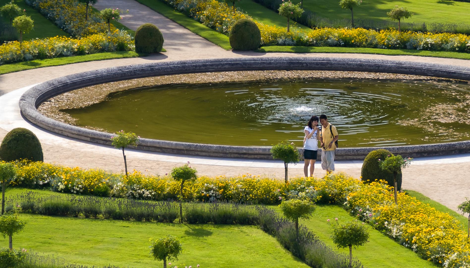 """""""Ist das nicht ein schönes Foto?"""" - Chenonceau/Loire/Frankreich"""