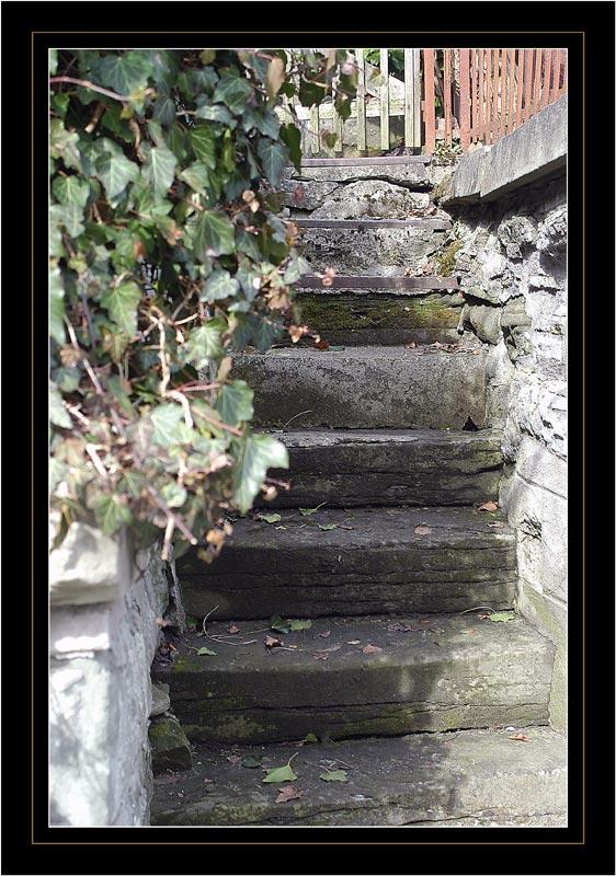 Ist diese Treppe...