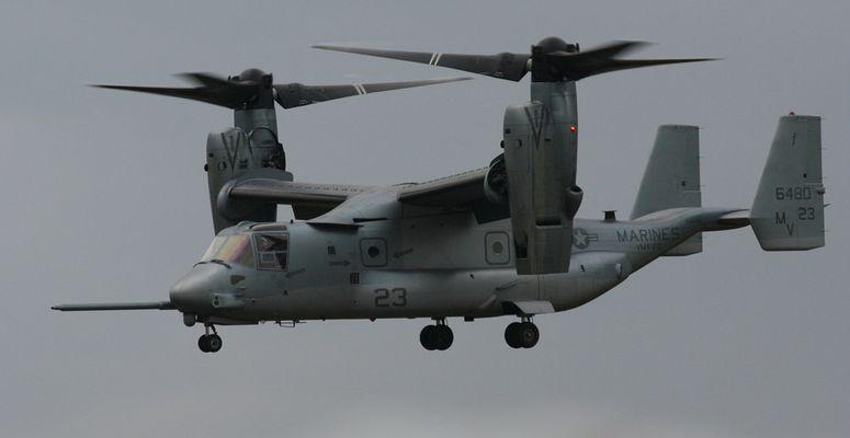 Ist es ein Hubschrauber oder ein Flugzeug?