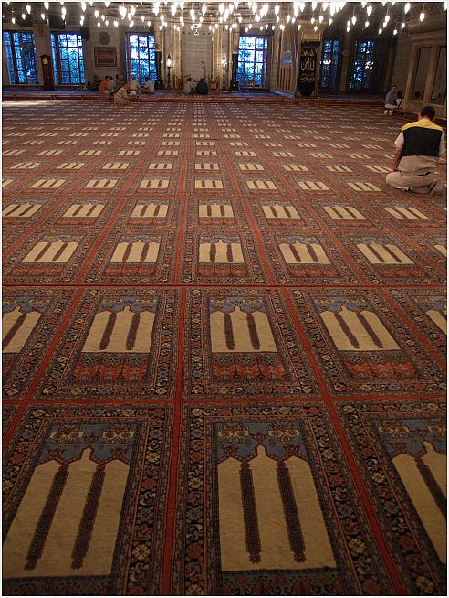 Istanbul 3 - die Moschee, ein Platz der Stille