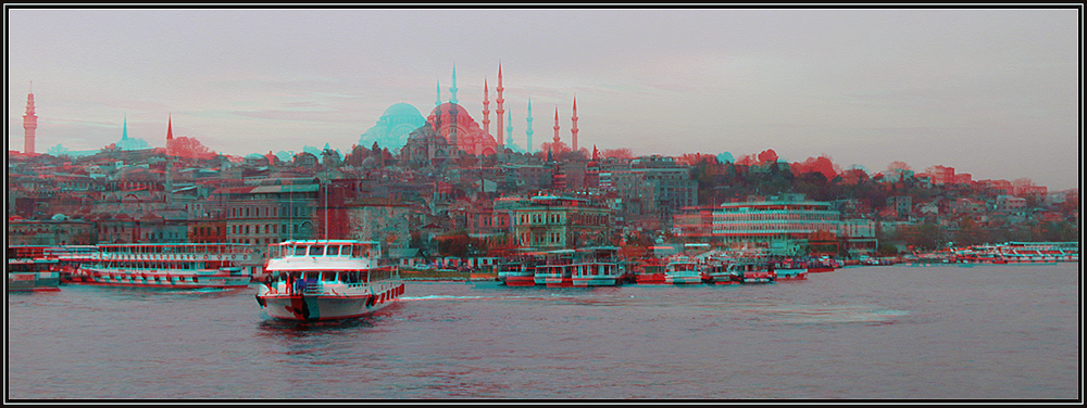 Istanbul 3D Anaglyph