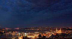 Istanbul am Abend