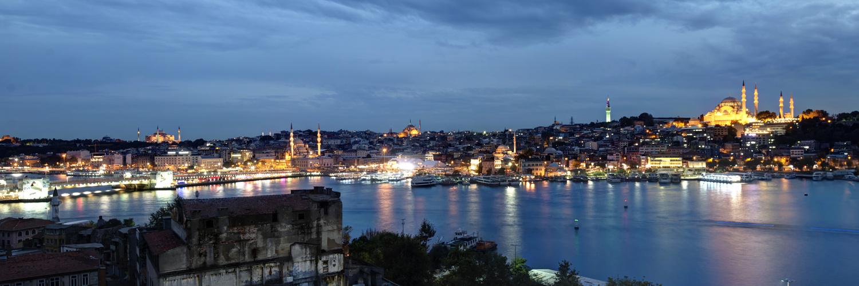 Istanbul am Goldenen Horn