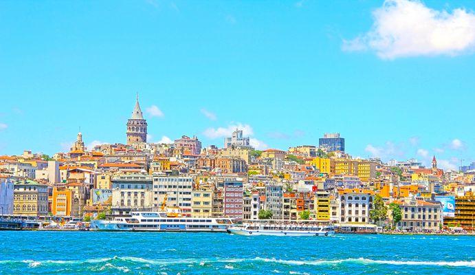 Istanbul bei bestem Wetter