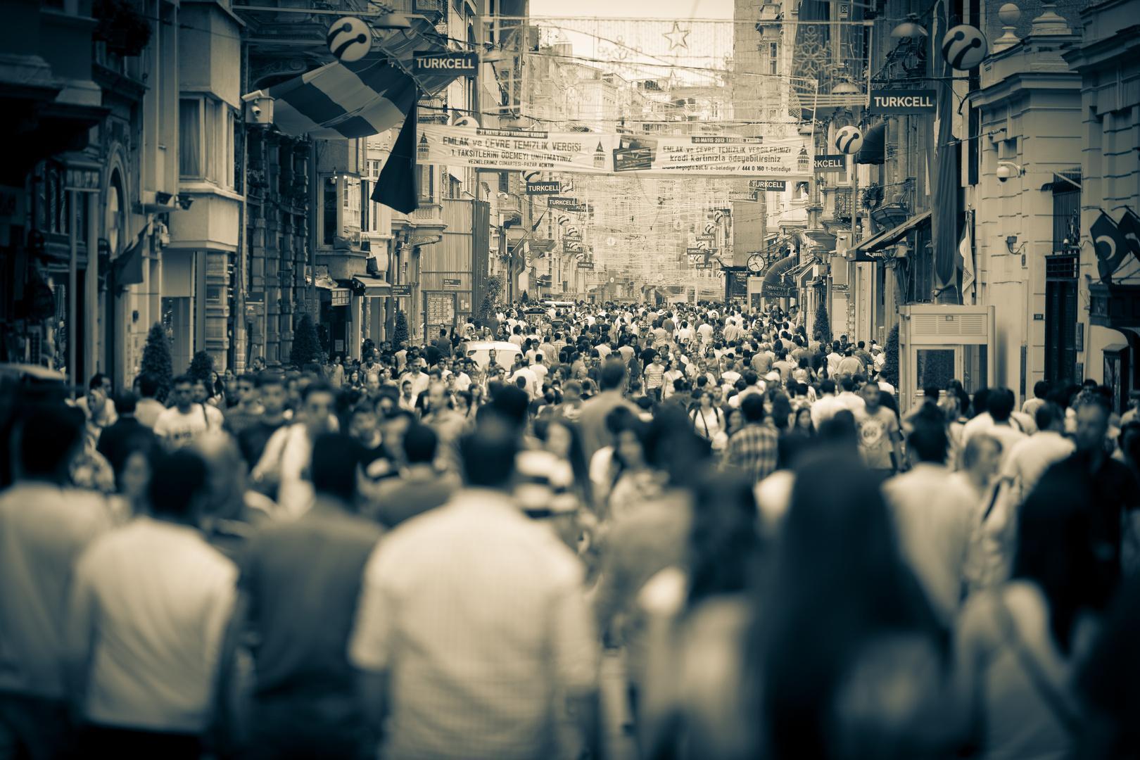 Istanbul - brodelnde Stadt