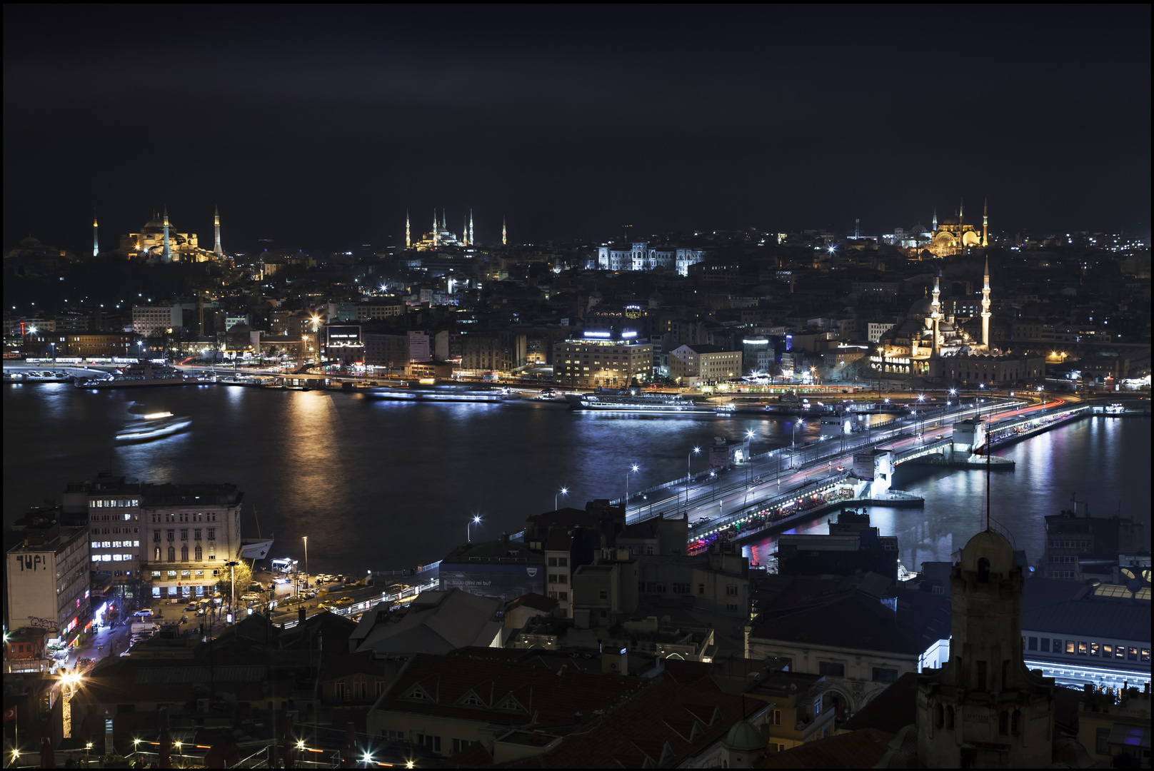 Istanbul City Lights