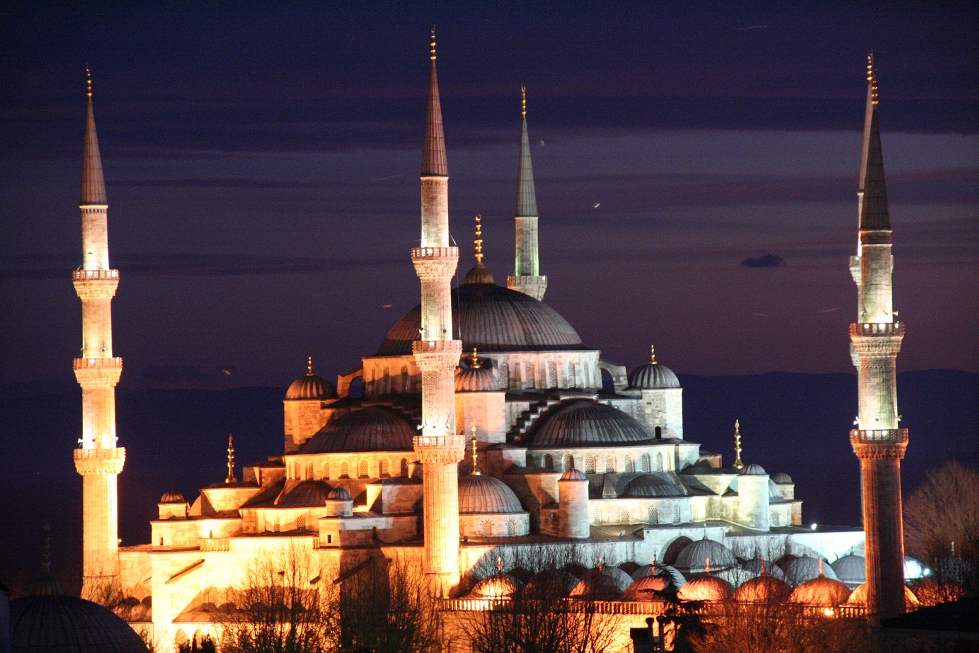 Istanbul -Die Blaue Moschee-
