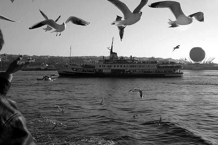 Istanbul: Fähre und so weiter