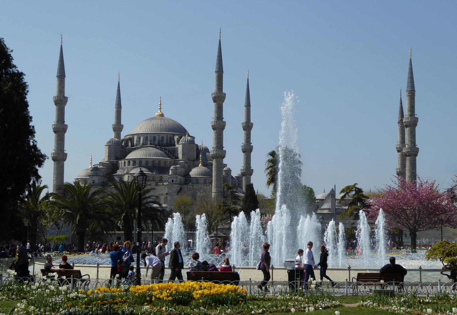 Istanbul im April 2014