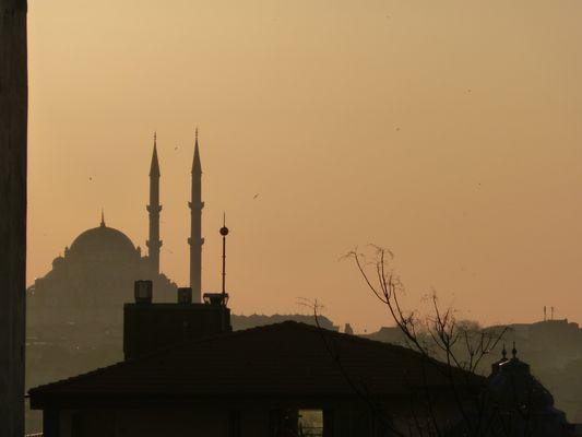Istanbul nach einem langen Tag
