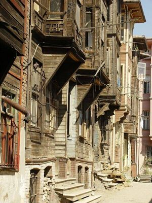 Istanbul - Old house