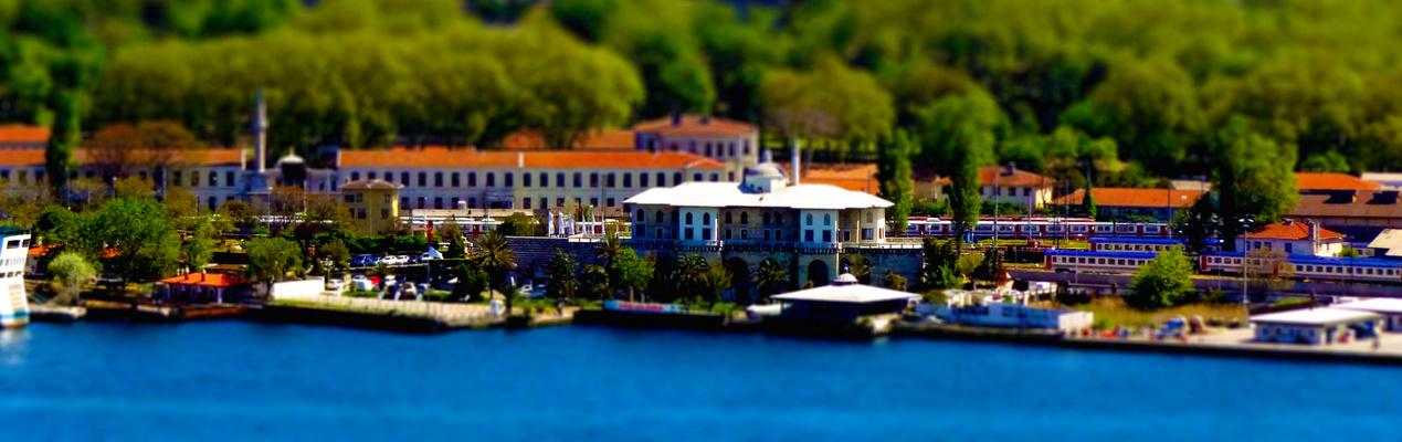 Istanbul - Sarayburnu & Topkapi Palast (Tilt-Shift)