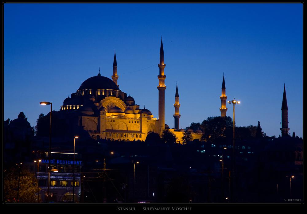 Istanbul - Süleymaniye-Moschee