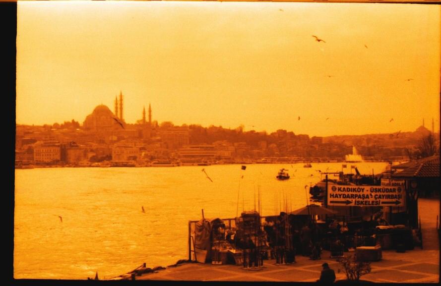Istanbul with the eye of Zorki 1C