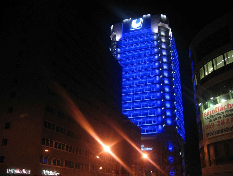 It is Blue....