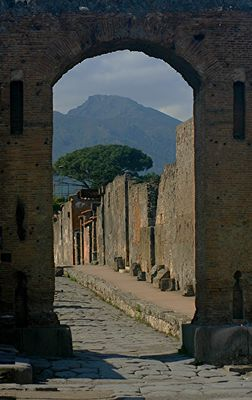 ITALIA - POMPEI VESUVIO
