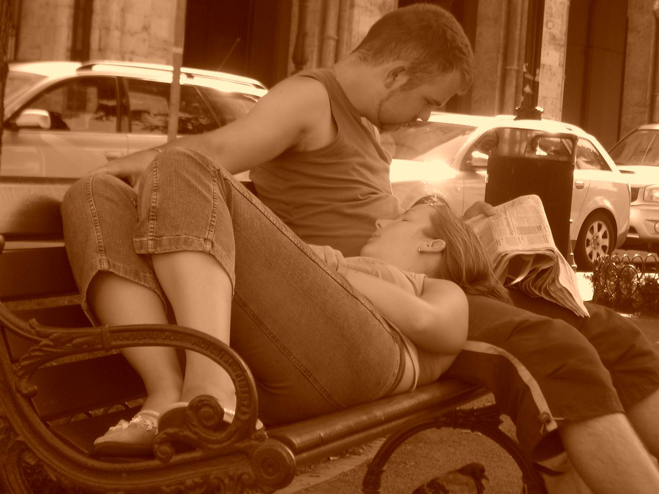 Italien 2008 - Paar