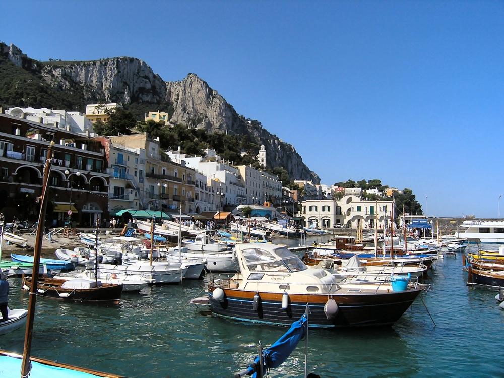 Italien Capri Marina Grande 01